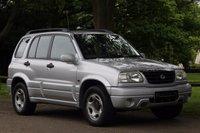 2002 SUZUKI GRAND VITARA 2.0 16V 5d 127 BHP £1590.00