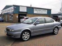 2004 JAGUAR X-TYPE 2.1 V6 4d AUTO 157 BHP £2995.00