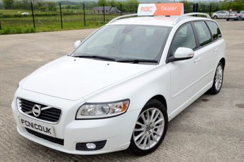 2012 VOLVO V50 1.6 DRIVE SE LUX EDITION 5dr 113 BHP *FREE TO TAX* £6500.00