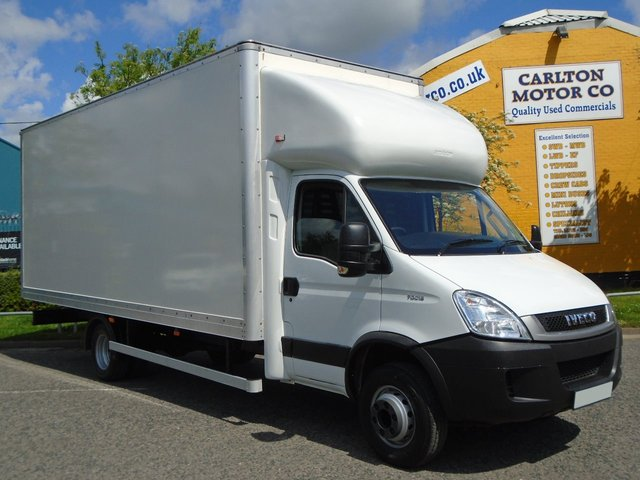 2011 11 IVECO-FORD DAILY 70C18D [ 3.0Hpi Semi Auto ] Luton Box Van Low mileage Fsh Free UK Delivery