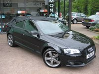 2012 AUDI A3 2.0 SPORTBACK TDI S LINE SPECIAL EDITION 5d 138 BHP £12490.00