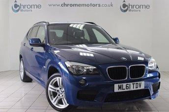 2011 BMW X1 2.0 XDRIVE20D M SPORT 5d AUTO 174 BHP £12295.00