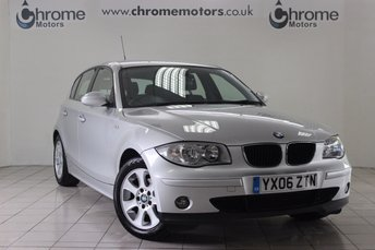 2006 BMW 1 SERIES 2.0 118I SE 5d 128 BHP £4250.00