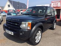 2006 LAND ROVER DISCOVERY 2.7 3 TDV6 HSE 5d AUTO 188 BHP £9495.00