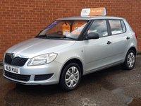 2011 SKODA FABIA 1.2 S 12V 5 Door £4495.00