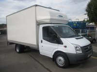 2010 FORD TRANSIT 2.4 350  JUMBO LUTON 14FT 7in  WITH ALLOY SLIMJIM TAILLIFT 115 BHP  SIX SPEED  68,000 MILES F.SH  £9500.00
