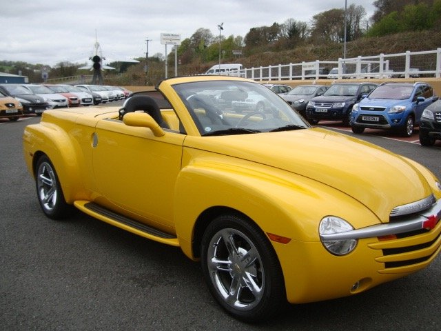 2016 CHEVROLET SSR SSR Pick-Up 6.2 Convertible