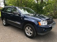 2006 JEEP GRAND CHEROKEE 3.0 V6 CRD LIMITED 5d AUTO 215 BHP £5995.00