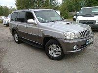2003 HYUNDAI TERRACAN 2.9 CDX CRTD 5DR 4X4 ESTATE 170 BHP £2695.00