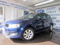 2014 VOLKSWAGEN POLO 1.4 MATCH EDITION 3d 83 BHP £8295.00