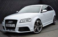 2012 AUDI RS3 2.5T QUATTRO 5 DOOR AUTO 340 BHP £26990.00