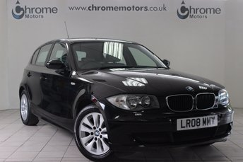 2008 BMW 1 SERIES 2.0 120D 5d 175 BHP £5650.00