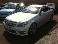 2012 MERCEDES-BENZ C CLASS 2.1 C250 CDI BLUEEFFICIENCY AMG SPORT 2d AUTO 204 BHP £13995.00