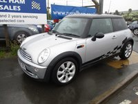 2005 MINI HATCH COOPER 1.6 COOPER 3d 114 BHP £3495.00