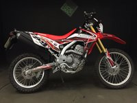 2015 HONDA CRF 250 L-D. 2015. 266 MILES. MINT BIKE £3499.00