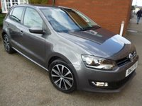 2013 VOLKSWAGEN POLO 1.4 MATCH 5d 83 BHP Bluetooth & More Extras £8560.00
