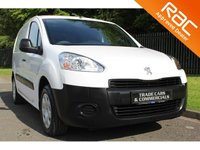 USED 2014 14 PEUGEOT PARTNER 1.6 HDI PROFESSIONAL L1 850 1d 89 BHP 3 SEATER / FULL SERVICE HISTORY
