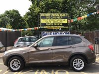 USED 2011 61 BMW X3 2.0 XDRIVE20D SE 5d 181 BHP SPARKLING BRONZE METALLIC, 3 OWNERS, FULL SERVICE HISTORY