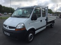 2009 RENAULT MASTER LL35 LWB 2.5 DOUBLE CAB DCI 120  £7995.00