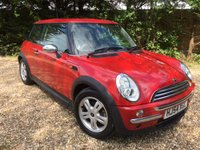 2004 MINI HATCH ONE 1.4 ONE D 3d 74 BHP £3495.00