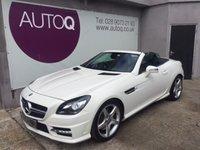 2013 MERCEDES-BENZ SLK 2.1 SLK250 CDI BLUEEFFICIENCY AMG SPORT 2d AUTO 204 BHP £18995.00