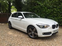 2013 BMW 1 SERIES 1.6 116I SPORT 5d AUTO 135 BHP £12989.00