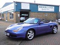 1998 PORSCHE BOXSTER 2.5 SPYDER 2d 201 BHP £4995.00