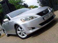 2008 LEXUS IS 2.2 220D 4d 175 BHP £4699.00