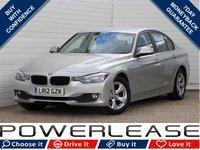 2012 BMW 3 SERIES 2.0 320D EFFICIENTDYNAMICS 4d 161 BHP £10489.00