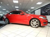 2011 MERCEDES-BENZ C CLASS C220 CDI AMG SPORT PLUS AUTO BLUEEFF £15375.00