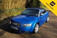 USED 2004 04 AUDI A4 4.2 S4 QUATTRO 2d AUTO 339 BHP FSH SPRINT BLUE STUNNING CAR