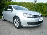 2012 VOLKSWAGEN GOLF 1.6 MATCH TDI BLUEMOTION TECHNOLOGY 5d 103 BHP £8650.00
