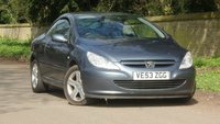 USED 2003 53 PEUGEOT 307 2.0 COUPE CABRIOLET 2d 135 BHP FSH + VGC