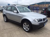 2005 BMW X3 2.5 SE 5d 190 BHP £4750.00