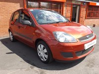 2006 FORD FIESTA 1.2 STYLE CLIMATE 16V 5d 78 BHP £1989.00