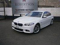 2014 BMW 5 SERIES 2.0 520D M SPORT AUTO 4dr £23480.00
