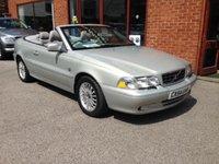 2004 VOLVO C70 2.0 T 2d 163 BHP £3500.00