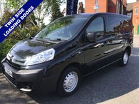USED 2016 16 CITROEN DISPATCH 1.6 1000 L1H1 ENTERPRISE HDI 89 BHP Twin Side Loading Doors