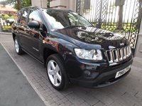 2011 JEEP COMPASS 2.0 LIMITED 5d 154 BHP £8595.00