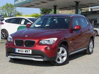 2011 BMW X1 2.0 SDRIVE20D EFFICIENTDYNAMICS 5d 161 BHP £12000.00