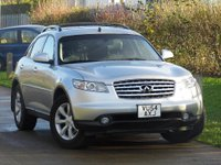 USED 2005 54 INFINITI FX 3.7 V6 S Premium AWD 5dr UK REGISTERED + LHD + FSH
