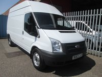 2013 FORD TRANSIT 350 LWB High roof 125PS RWD *ONE OWNER*6 SPEED* £9995.00