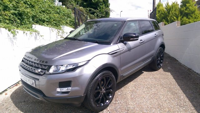 2012 62 LAND ROVER RANGE ROVER EVOQUE 2.2 SD4 PURE TECH 5d 190 BHP