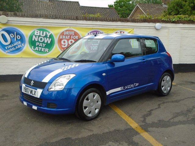 2007 07 SUZUKI SWIFT 1.3 GL 3d 91 BHP