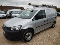 2011 VOLKSWAGEN CADDY MAXI 1.6 C20 TDI BLUEMOTION TECHNOLOGY 102 BHP £6795.00