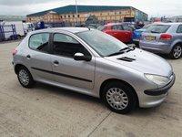 2002 PEUGEOT 206 1.4 LX 5d 74 BHP £995.00