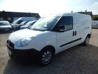 2012 FIAT DOBLO 1.2 16V MULTIJET MAXI  90 BHP ONLY 22912 Miles From New £5995.00