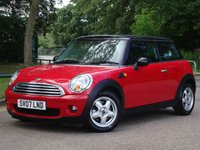2007 MINI HATCH COOPER 1.6 COOPER 3d 118 BHP £4995.00