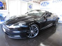 2011 ASTON MARTIN DBS 5.9 V12 VOLANTE 2d AUTO 510 BHP £89995.00