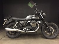2013 MOTO GUZZI V7 STONE, 2013, 13k, FSH, 1 OWNER BIKE. MATT BLACK £4499.00